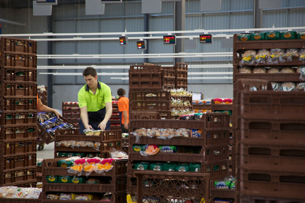 Goodman Fielder high-tech distribution centre gives us our daily bread