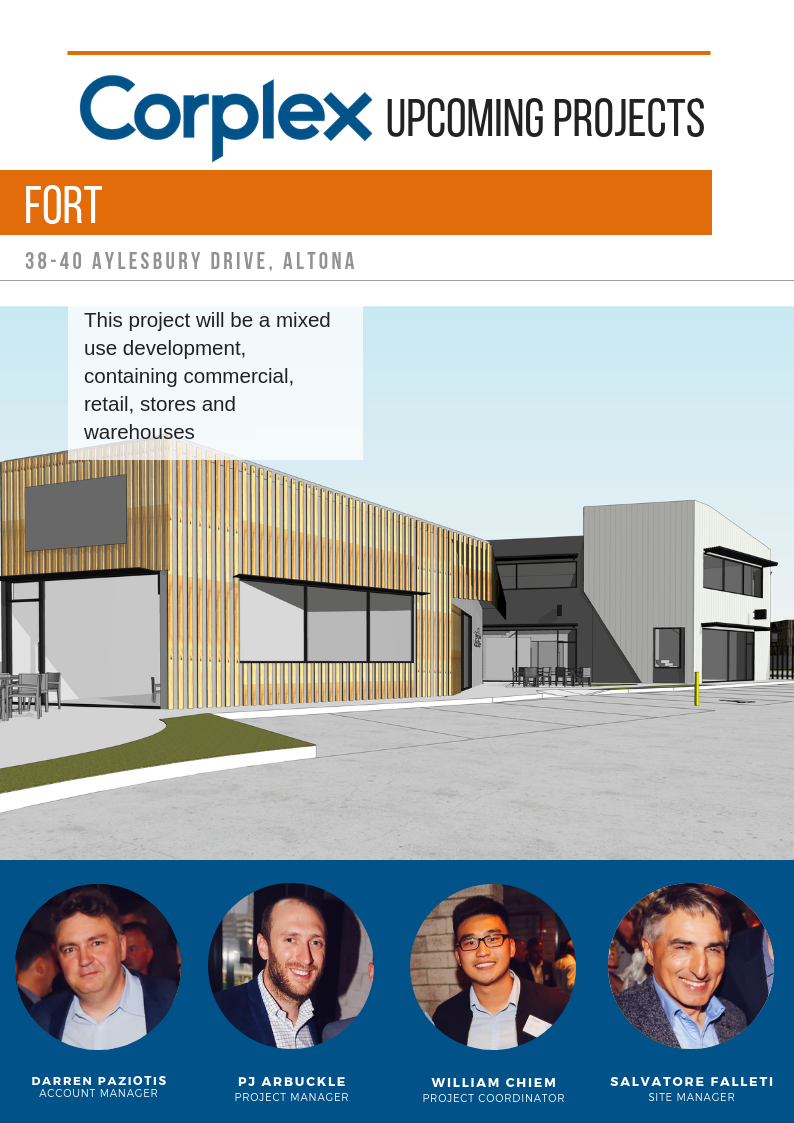 Upcoming Projects – FORT