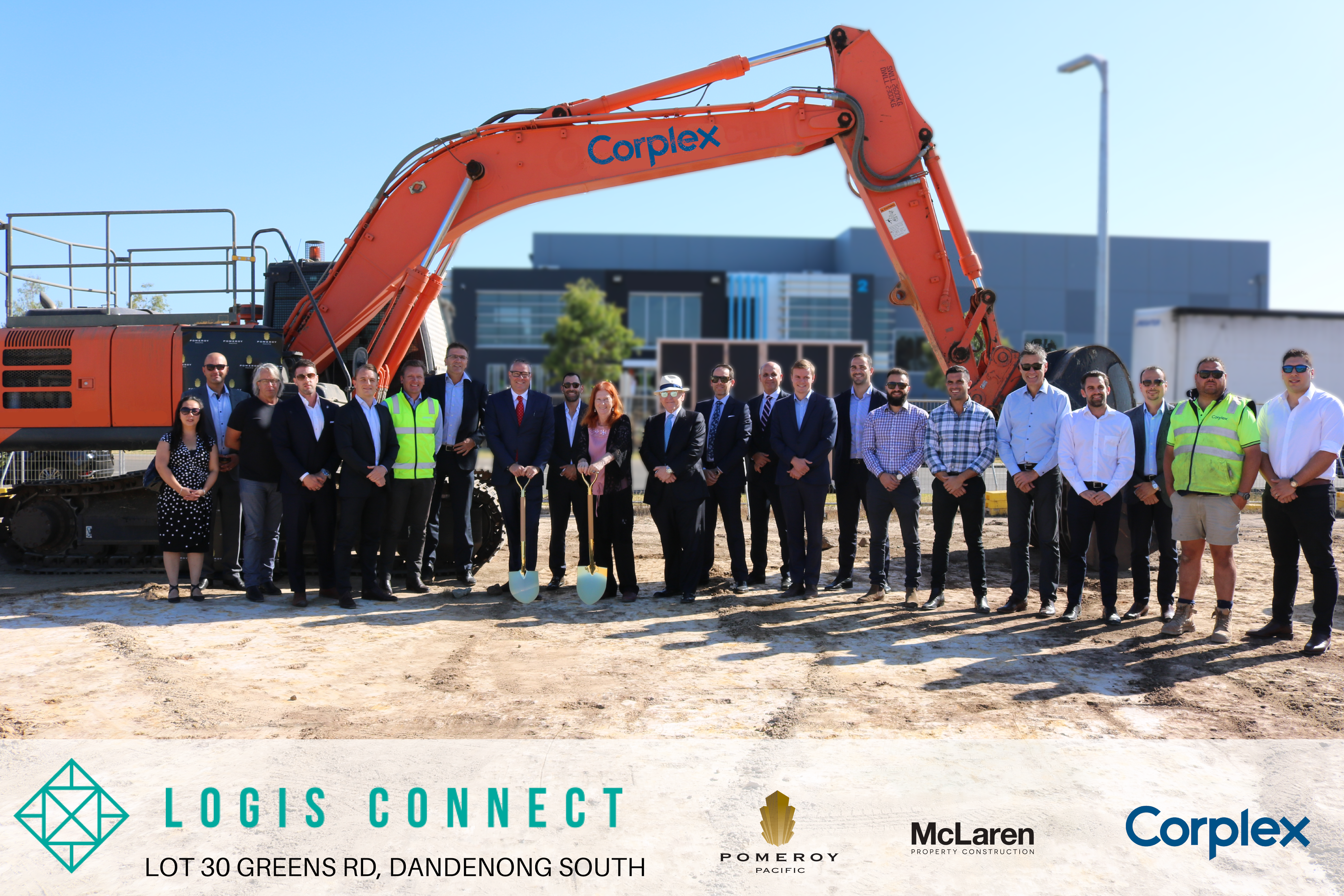 Breaking Ground – Logis Connect